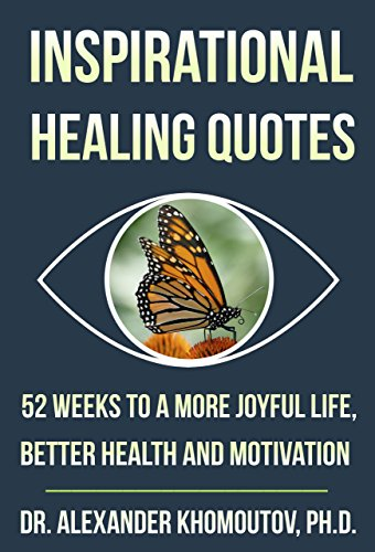 inspirational healing quotes - book cover