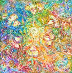 Opening to Love - metaphysical giclee print by world renowned artist ...