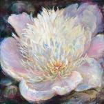 Gentle Light - Feng Shui Original fine art Painting - for Love and Good Luck by world renowned Ottawa artist Elena Khomoutova
